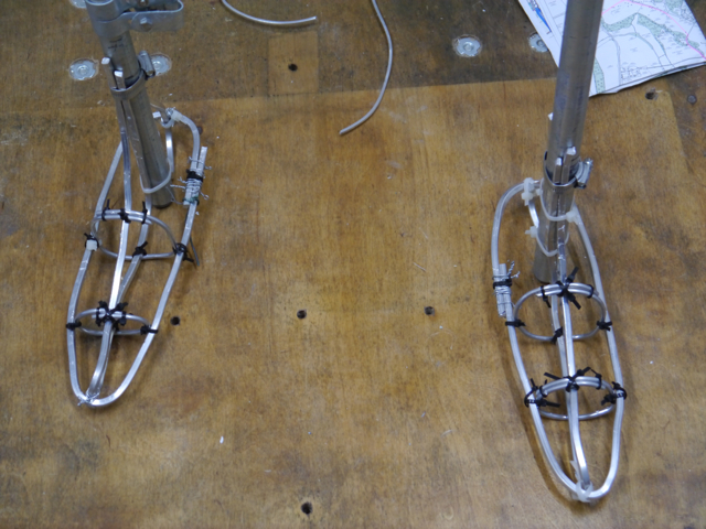 Feet armature for the Gresley statue - by Hazel Reeves