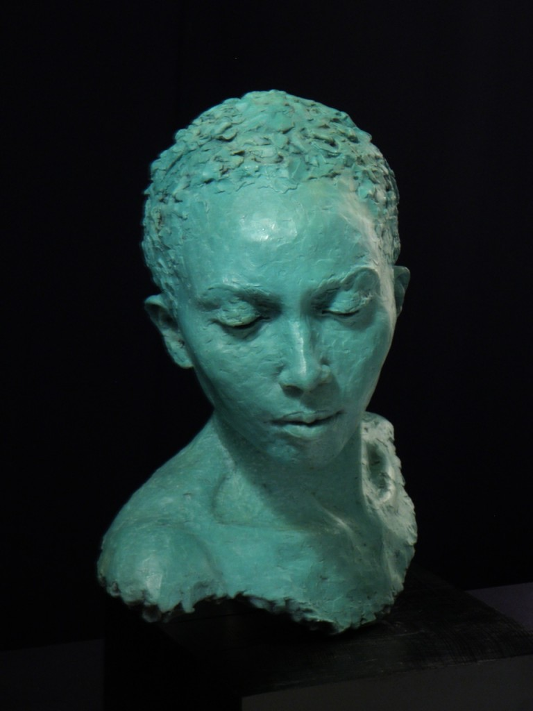 Mercy II - sculpture by Hazel Reeves, sculpted at Dorich House Museum