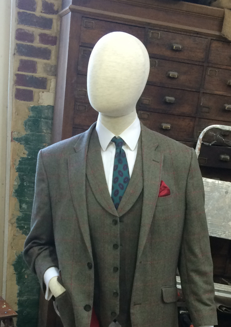 Mannequin for the Gresley statue