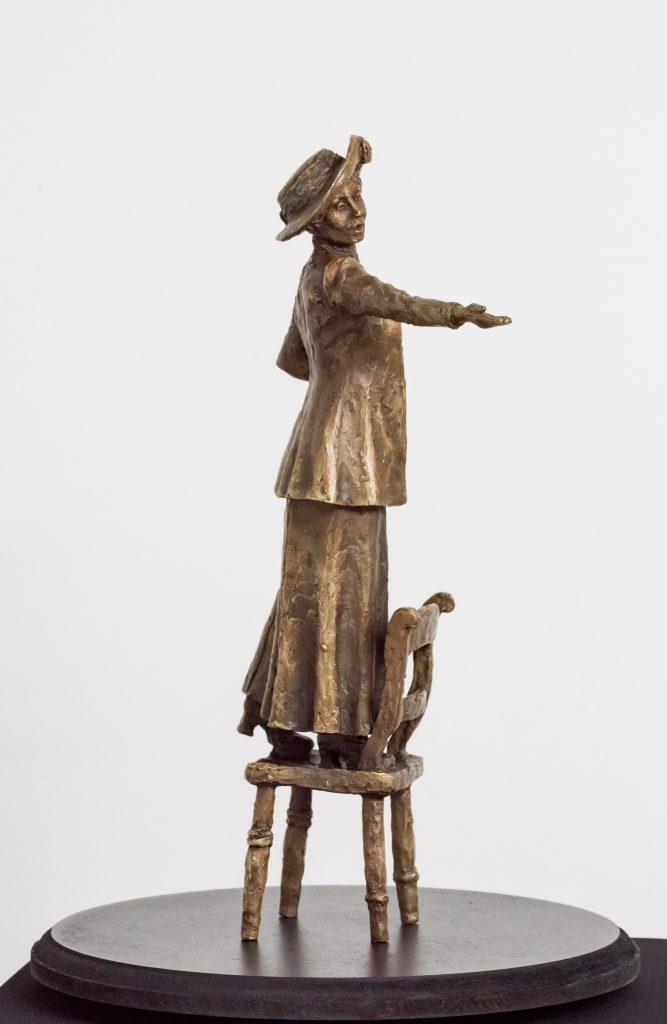 Emmeline Pankhurst Commission Hazel Reeves Sculpture
