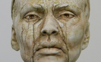 Alyona weeps - sculpture by Hazel Reeves