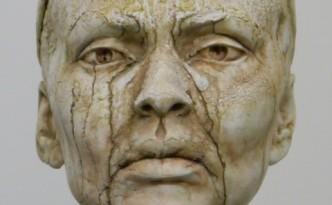 Alyona weeps - sculpture by Hazel Reeves