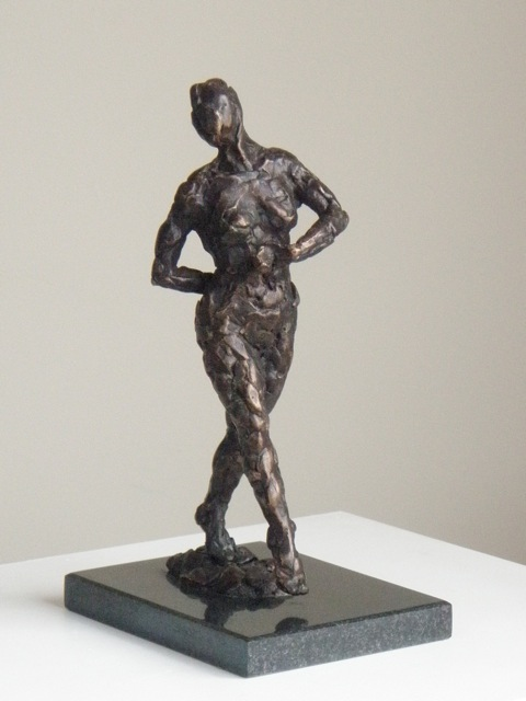 Dance I - sculpture by Hazel Reeves