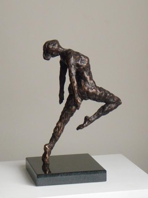Dance II - sculpture by Hazel Reeves