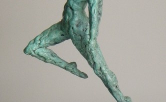 Dance II - sculpture by Hazel Reeves