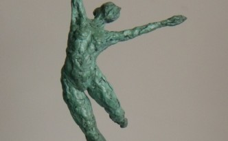 Dance V - sculpture by Hazel Reeves