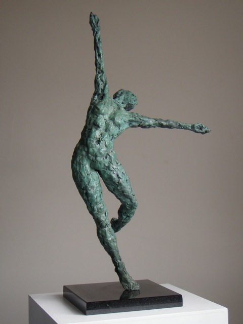 Dance VI - sculpture by Hazel Reeves