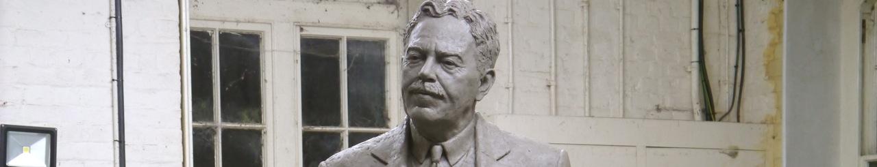 Gresley statue – the head