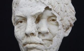 Mum/me - sculpture by Hazel Reeves