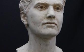 Portrait sculpture of Patrick Reeves-Dienes