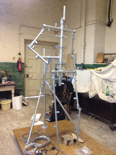 The main structure of the Gresley armature complete