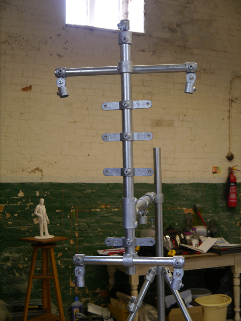 The spine of the Gresley armature
