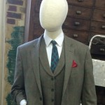 Mannequin for the Gresley statue - by Hazel Reeves