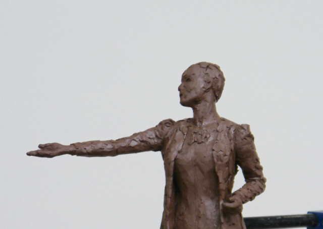 The Pankhurst maquette: working with the model