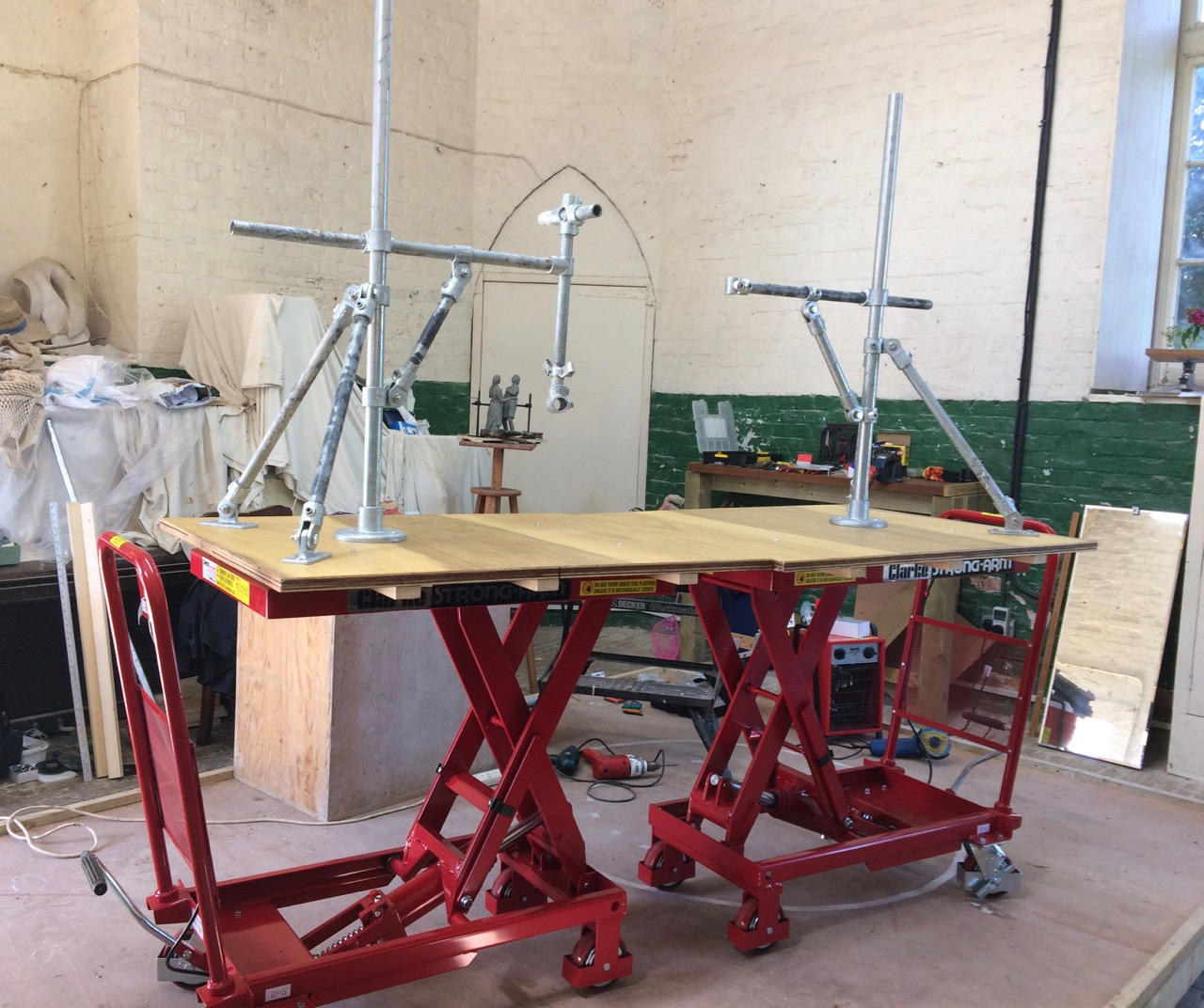 Building the Cracker Packer armatures – I
