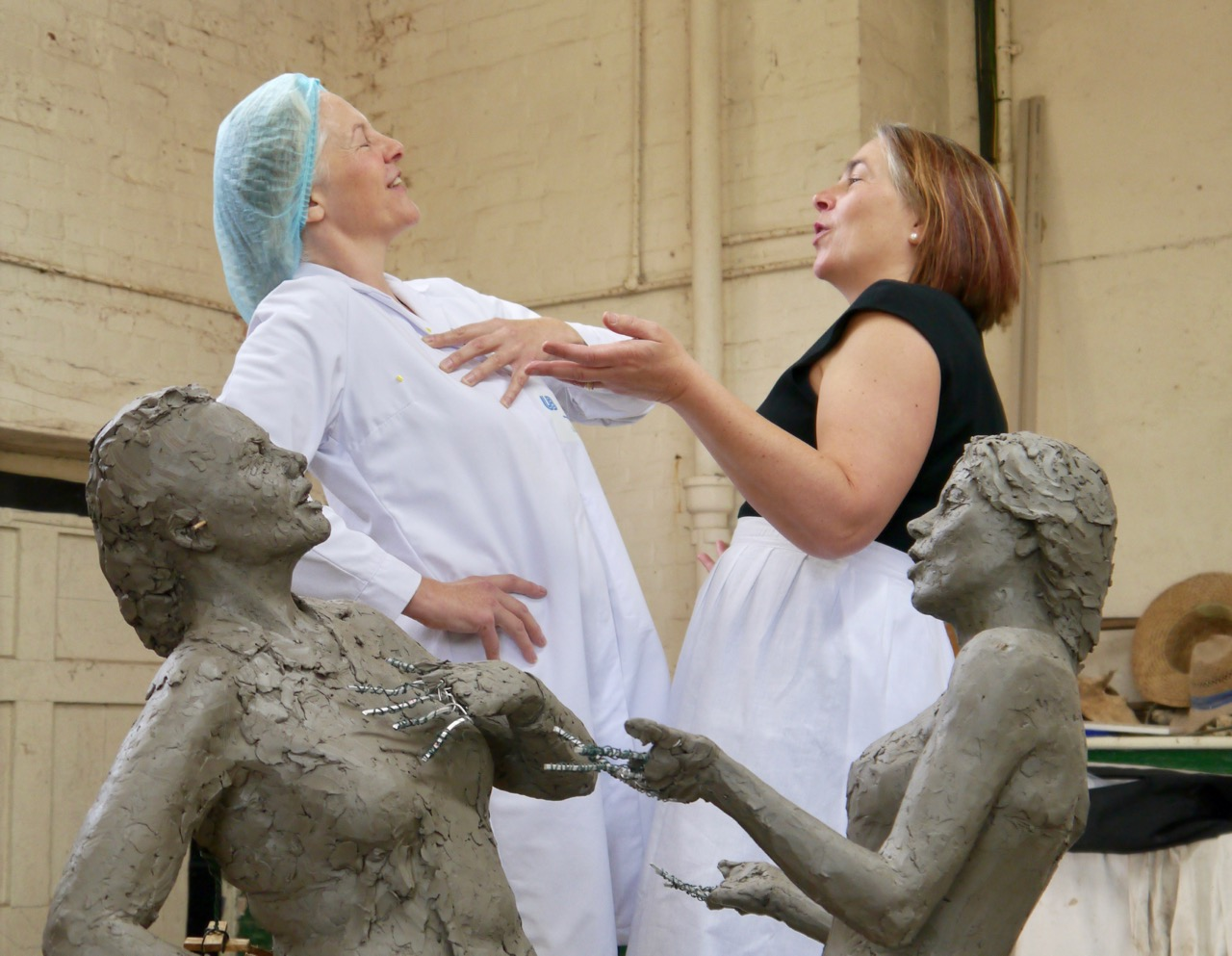 Hazel speaks at Feminist Public Sculpture Research Forum