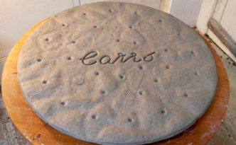 The final Carr's Table Water Biscuit