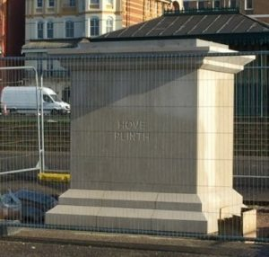 Hove Plinth ready for installation
