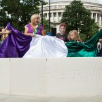 Unveiling of the Emmeline Pankhurst Meeting Circle- photo by © Bernadette Delaney Photography