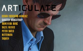 cover of ARTICULATE magazine