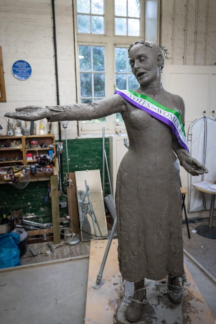 Emmeline with sash - photo by Nigel Kingston