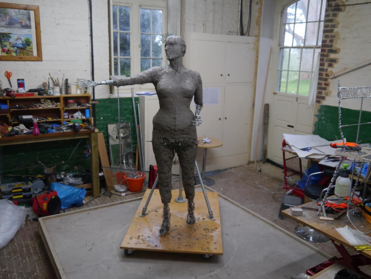 Our Emmeline: the unclothed figure