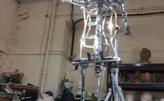 Emmelines armature - photo by Hazel Reeves
