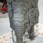 Emmelines leg - photo by Nigel Kingston