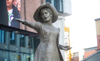 Our Emmeline statue unveiled