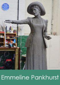 Emmeline Pankhurst banner