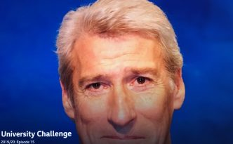 Jeremy Paxman on University Challenge