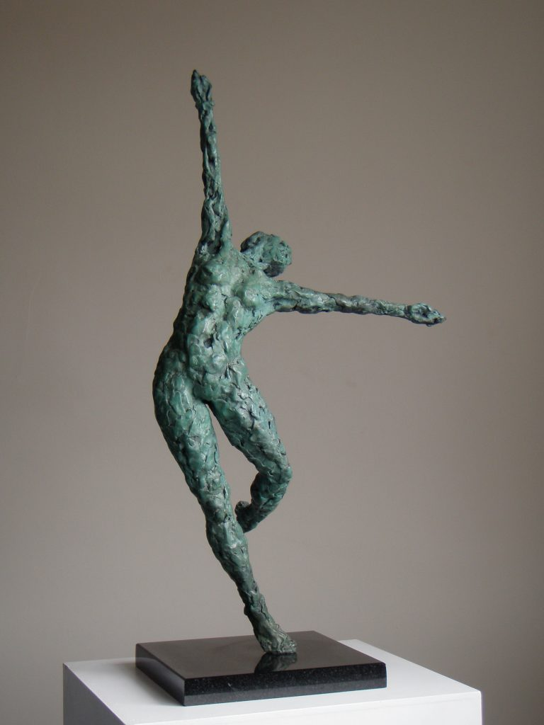 Dance VI bronze sculpture