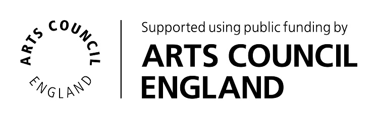 This is the logo of the Arts Council England, who has funded Hazel Reeves to creati soundscapes
