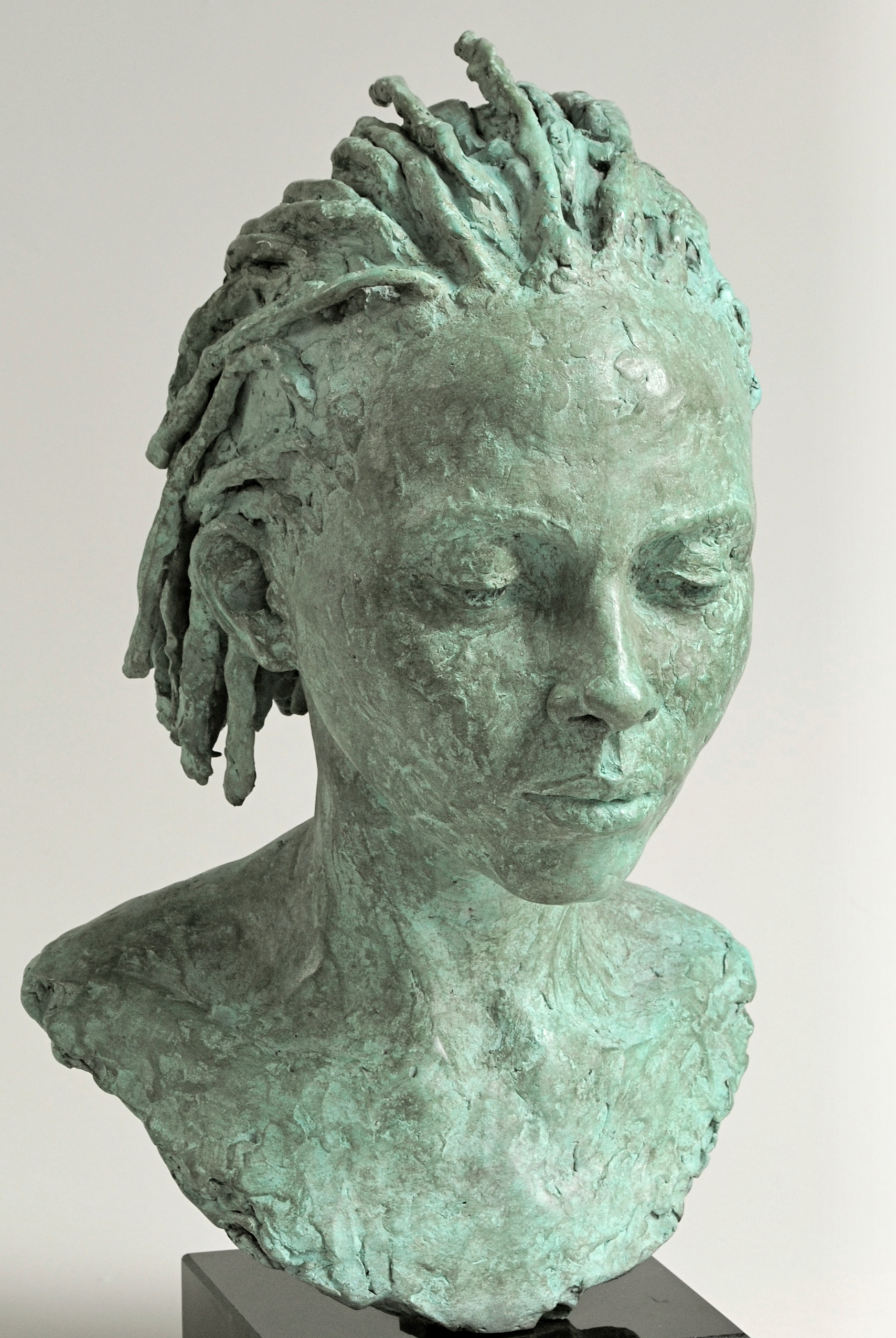 Mercy - sculpture by Hazel Reeves
