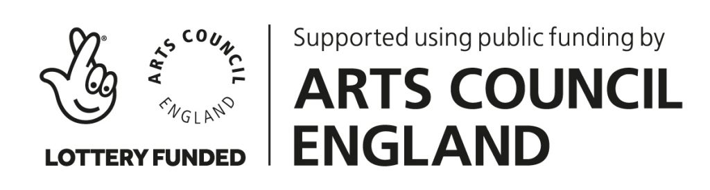 National Lottery and Arts Council England logo